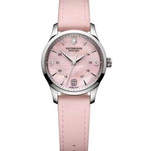Victorinox Alliance Pink Mother of Pearl Watch